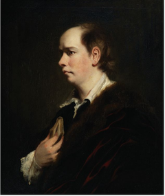 Portrait of Oliver Goldsmith (1728-1774), Playwright and Author