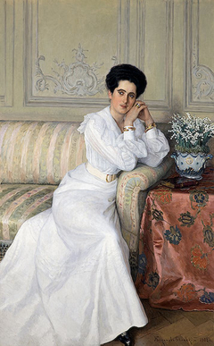 """Portrait of Princess D.Gorchakova"""