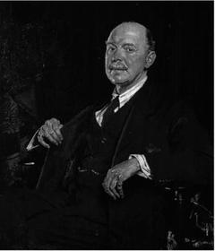 Portrait of Sir Herbert Cook