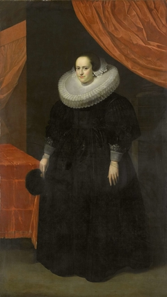 Portrait of Suzanna Moor, after 1629 Wife of Laurens Reael