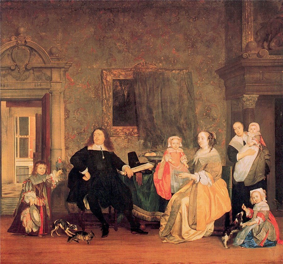 Portrait of the Family Hinlopen
