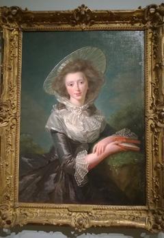 Portrait of the Vicomtesse de Vaudreuil