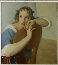 Portrait of Wife.