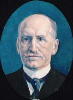 Portrait of Wilhelm Hansen Færden