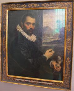 Porträt eines Bildhauers
