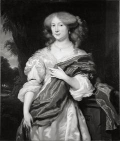 Porträt von Engelberta van Brienen (1653-1716), Gemahlin  von Paulus Voet van Winssen