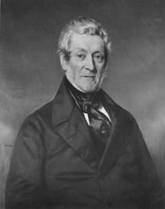 Portret van Jan Pieter van Mansvelt (1794-1860)
