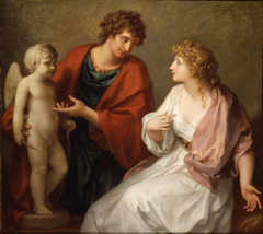 Praxiteles Giving Phryne his Statue of Cupid