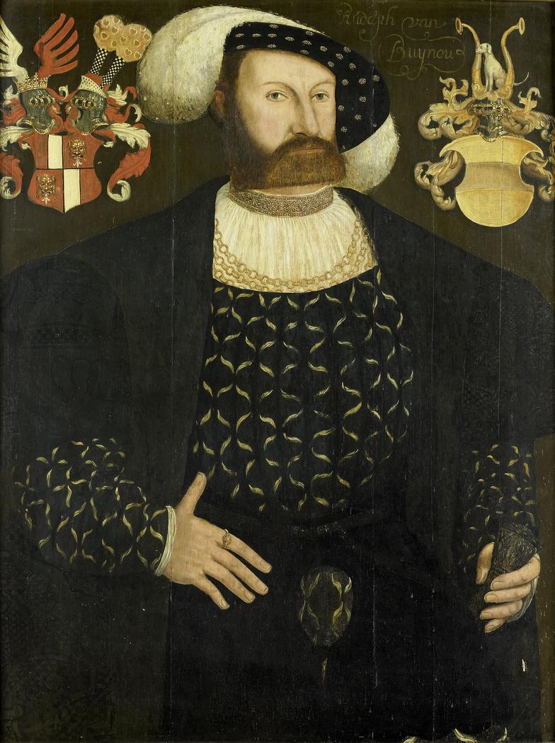Presumed Posthumous Portrait of Rudolph van Buynou (Bunau), Drossard of Stavoren and Chief Magistrate of Gaasterland