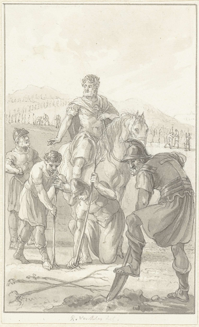 Probus laat zijn soldaten wijngaarden planten