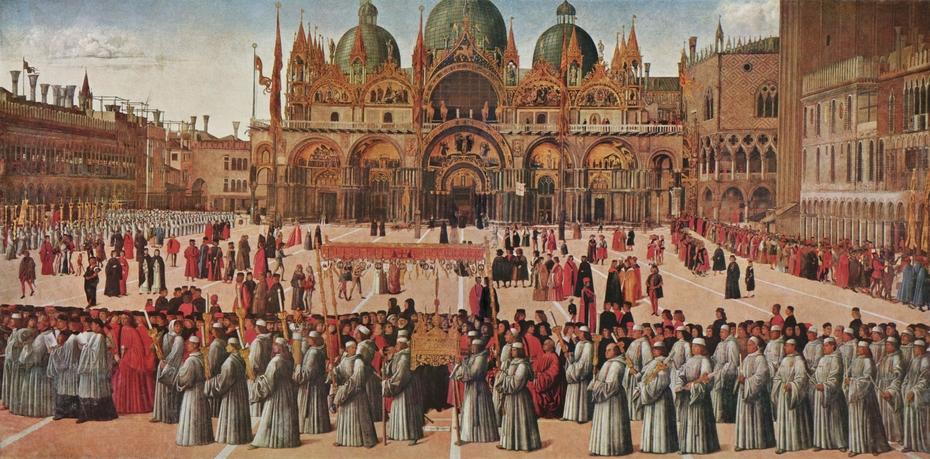 Procession in St. Mark's Square