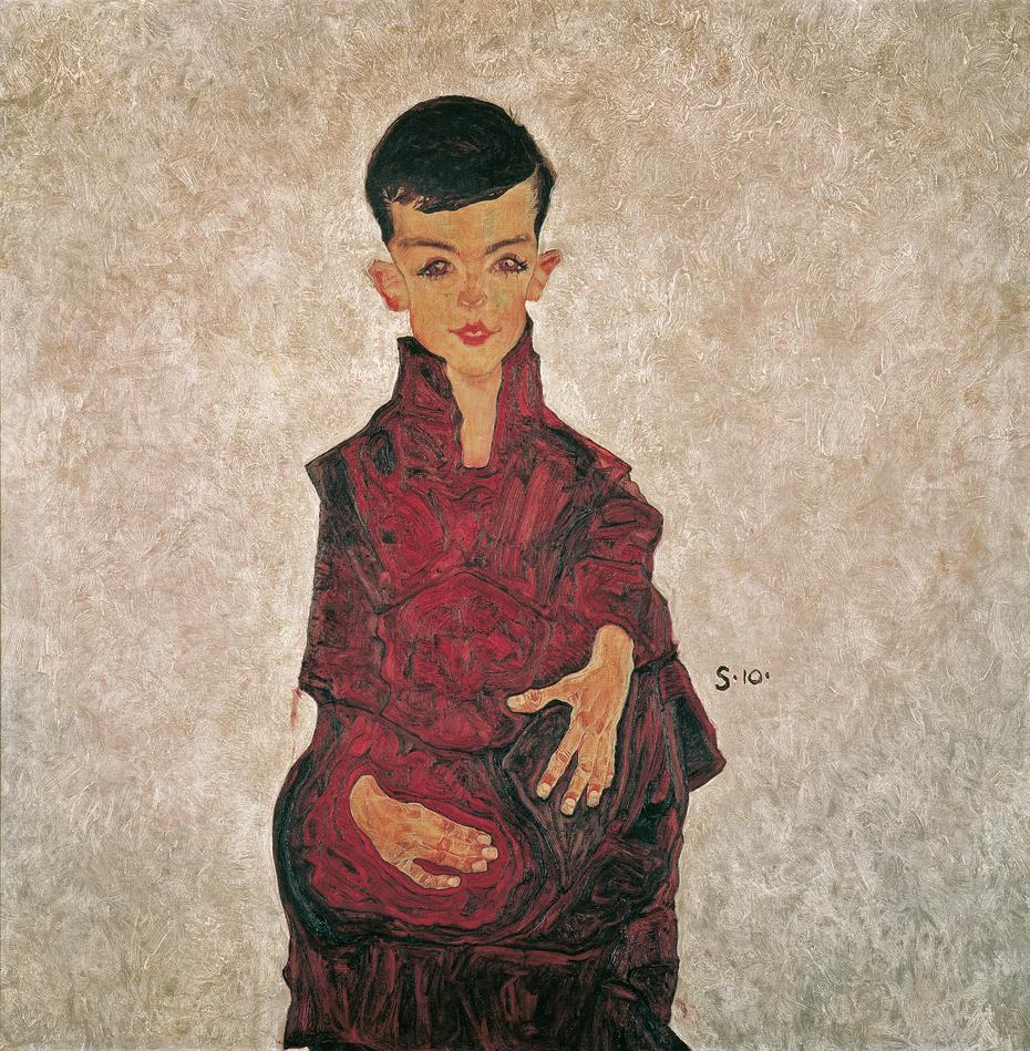 Rainerbub (Bildnis Herbert Rainer im Alter von etwa sechs Jahren)