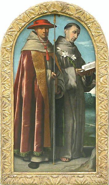 Saint Bonaventure and Saint Anthony of Padua