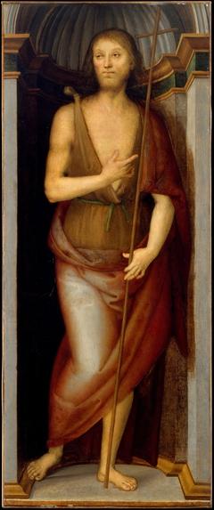 Saint John the Baptist; Saint Lucy