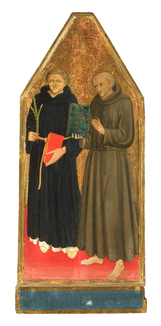 Saint Nicholas and Saint Bernard