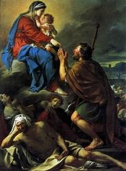 Saint Roch Interceding with the Virgin for the Plague-Stricken