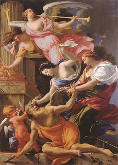 Saturn, Conquered by Amor, Venus and Hope