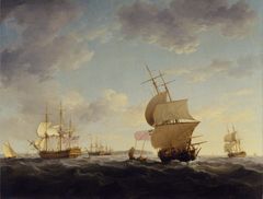 Shipping in the English Channel