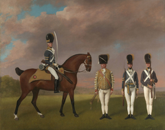 Soldiers of the 10th Light Dragoons