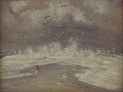 Stormvejr. Skagens Gren
