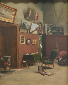 Studio in the Rue de Furstemberg