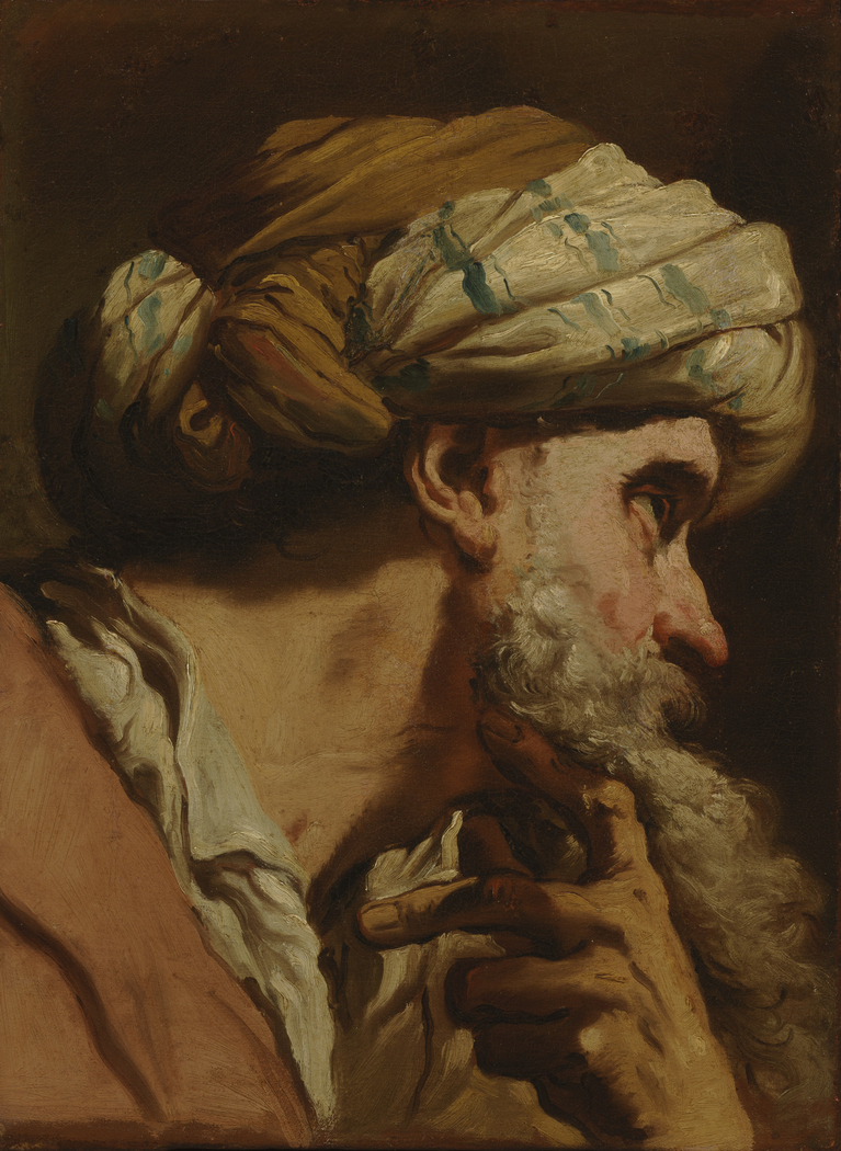 Study of an Oriental Head for 'The Marriage at Cana'
