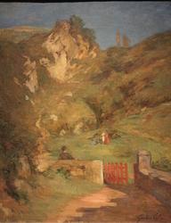 Sur la route du Castillo à Pasajes
