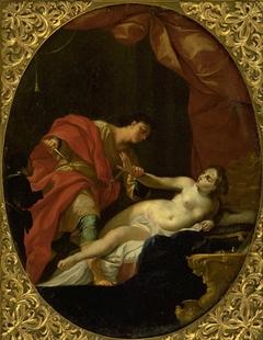 Tarquin Threatening Lucretia