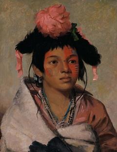 Tcha-káuk-o-ko-máugh, Great Chief, a Boy