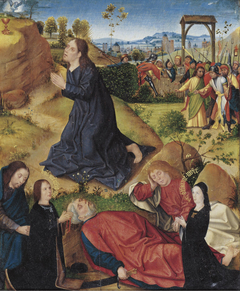 The Agony in the Garden with Kneeling Donors of the De Jode Family