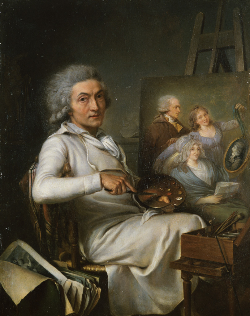 The Artist Painting a Family Portrait
