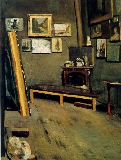 The Artist's Studio, Rue Visconti