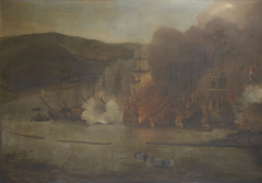 The Attack on Shipping in Bugia, 18 May 1671 (II)