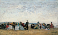 The Beach near Trouville