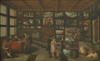 The Cabinet of an Art Lover