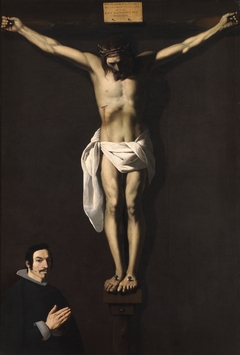 The Crucified Christ with a Donor