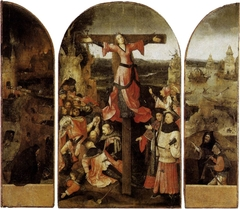 The Crucifixion of St Julia