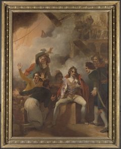 The Earl of Sandwich Refusing to Abandon His Ship During the Battle of Solebay