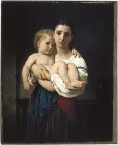 The Elder Sister, reduction (La soeur aînée, réduction)
