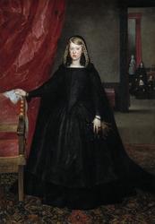 The Empress Doña Margarita de Austria in Mourning Dress (La emperatriz Margarita de Austria)