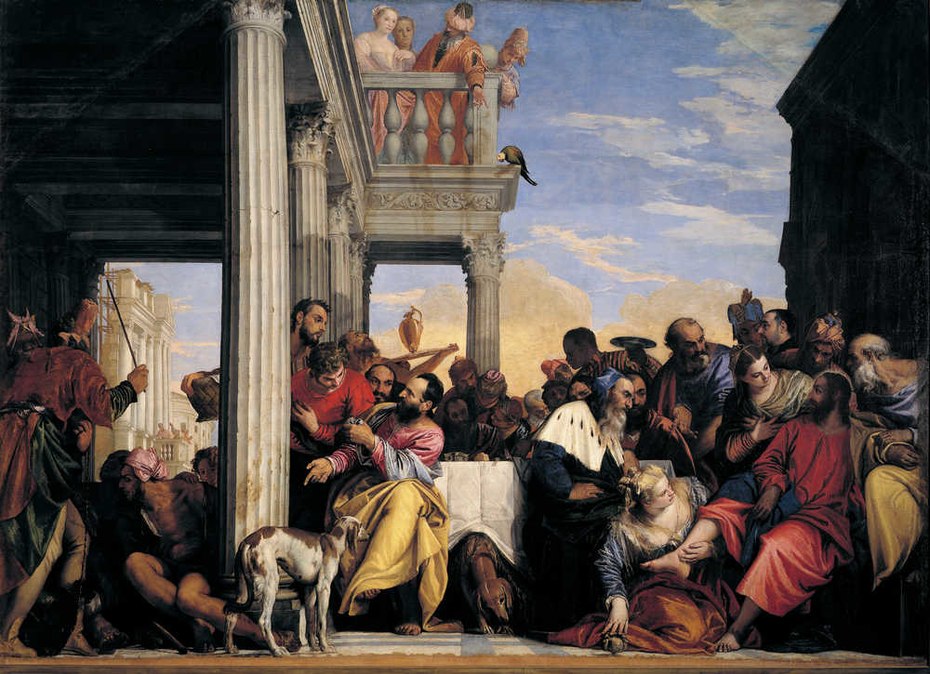 The Feast in the House of Simon the Pharisee (Veronese, Turin)
