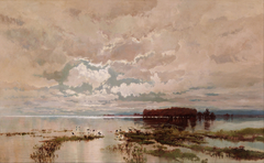 The flood in the Darling 1890