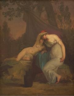 The Greek Poet Sappho and the Girl from Mytilene