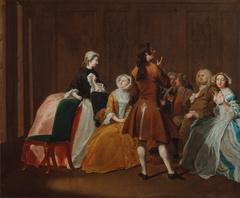"The Harlowe Family, from Samuel Richardson's ""Clarissa"""