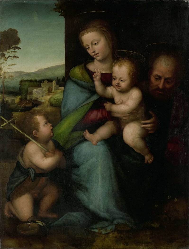 The Holy Family with the Infant John the Baptist
