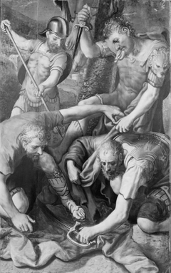 The Soldiers Fighting over Christ's Cloak