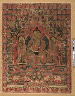 The Supreme Physician (Bhaishajyaguru) and His Celestial Assembly