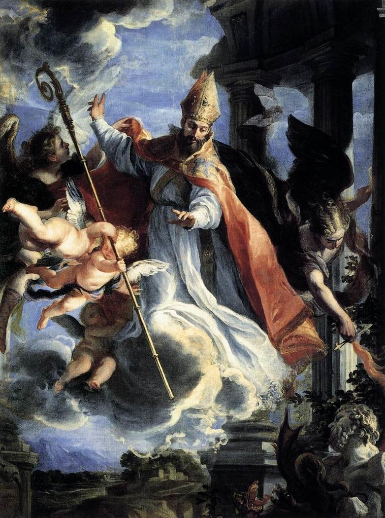 The Triumph of Saint Augustine