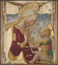 The Virgin Adoring theChild