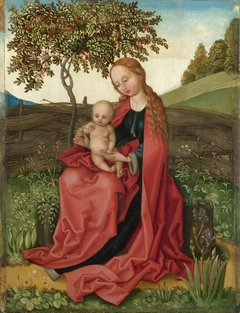 The Virgin and Child in a Garden